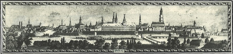 Wroclaw from the south side, F. G. Endler