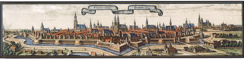 M. Merian - Wroclaw from the south side